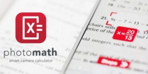 PhotoMath, aplikasi android